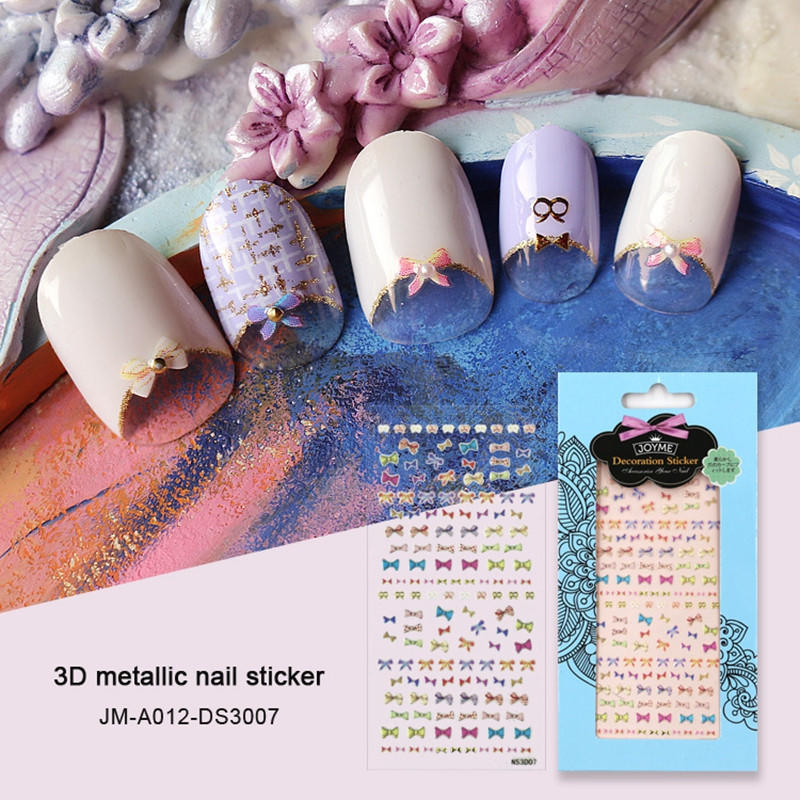 promotional custom nail decals for ladies-1
