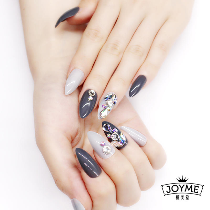 fashion false nails full cover factory price for girls-2