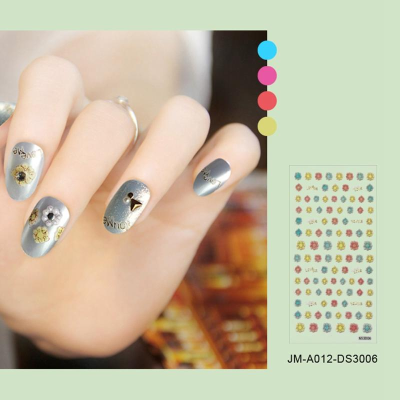 star self-adhesive nail decals factory for ladies-3