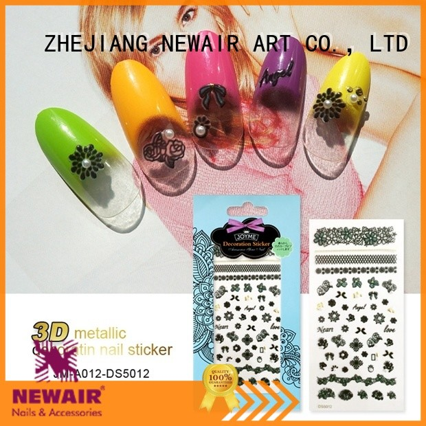 Newair Fake Nails best nail decals factory for commercial