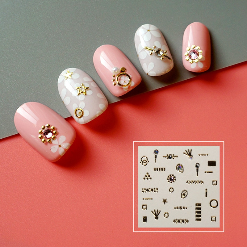 Newair Fake Nails fashion fingernail stickers factory for girl-5