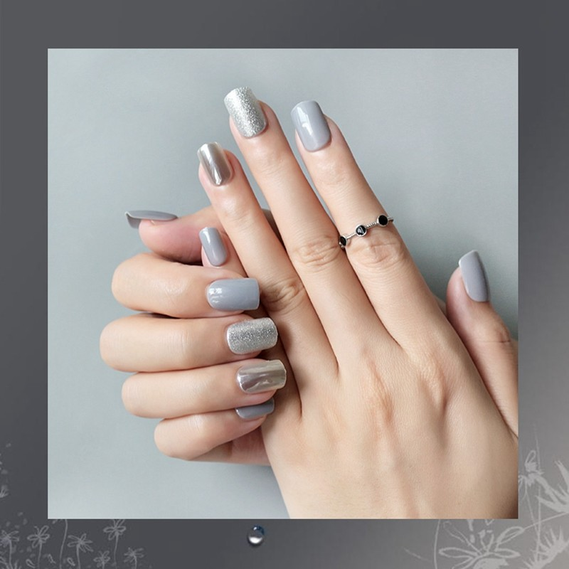 natural acrylic nails directly sale for girls
