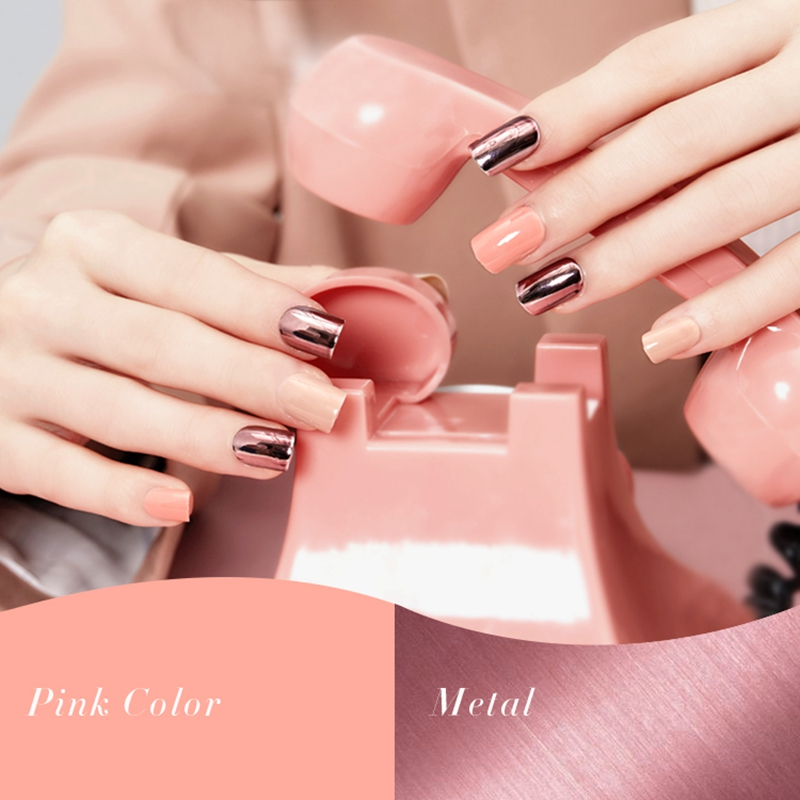 Newair Fake Nails matt press on nails short series for girls-5