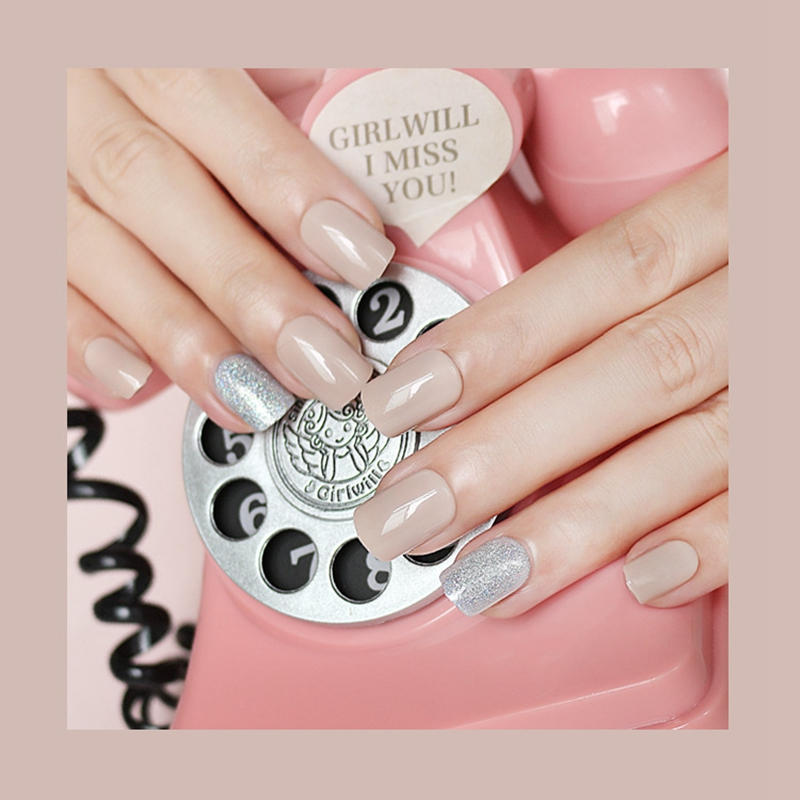 porcelain best press on nails customized for wedding-5