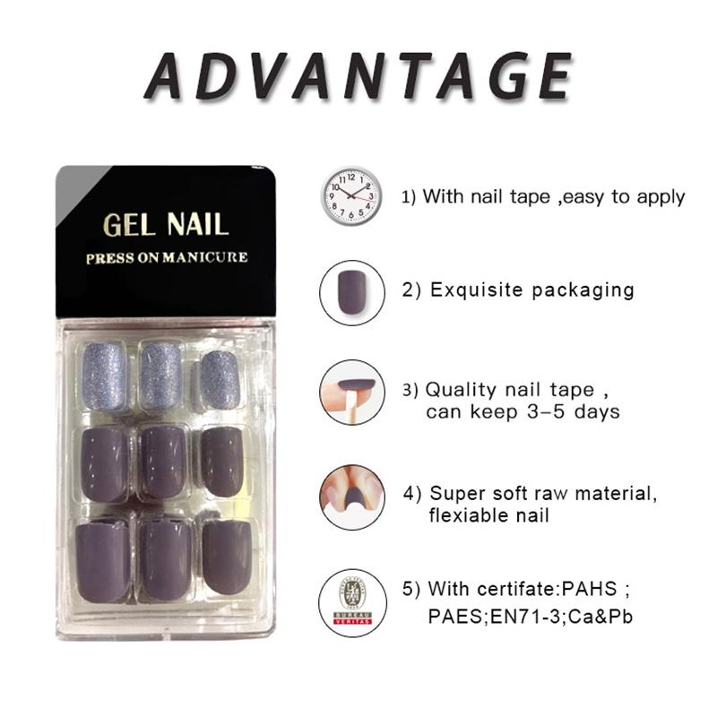 Newair Fake Nails Array image100