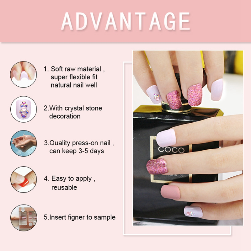 Newair Fake Nails artificial nails kit manufacturer for girls-4