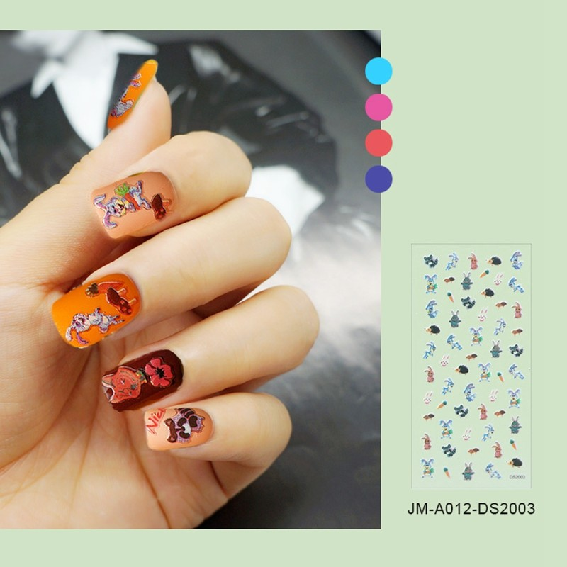 ZOO PARADISE NAIL STICKER