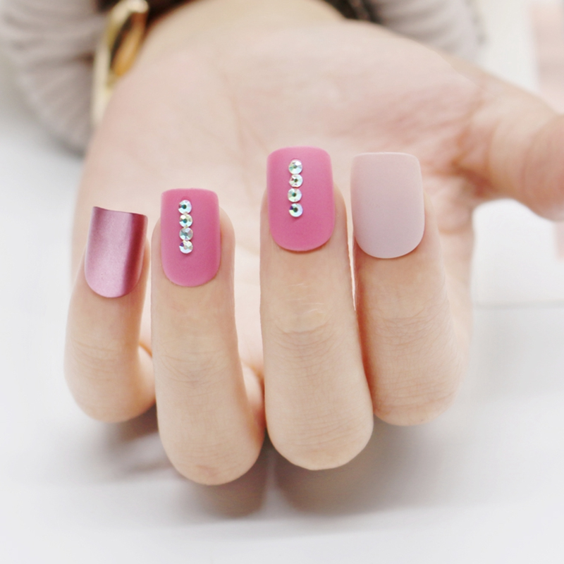 Newair Fake Nails classical artificial nail set manufacturer for lady-5