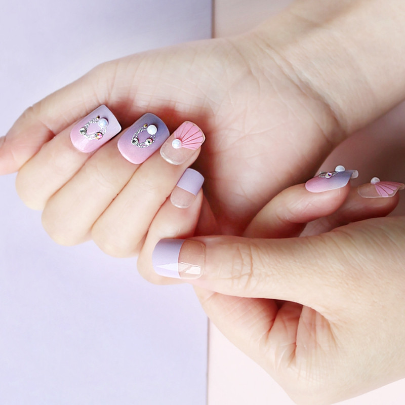 Newair Fake Nails long artificial nails directly sale for lady-4