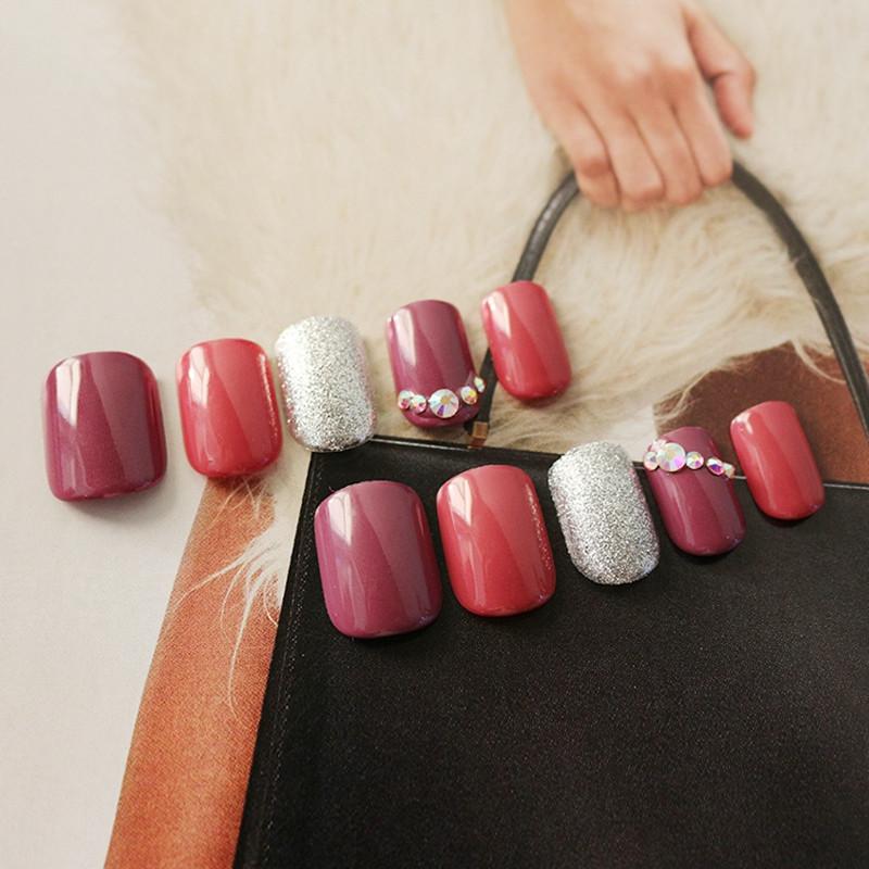 Newair Fake Nails gel press on nails manufacturer for bride-5
