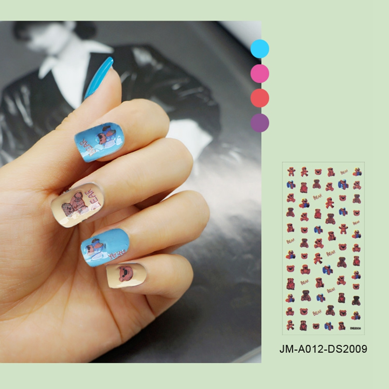 Newair Fake Nails 3d nail stickers for women-4