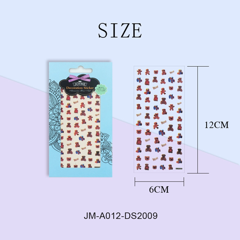 Newair Fake Nails 3d nail stickers for women-5