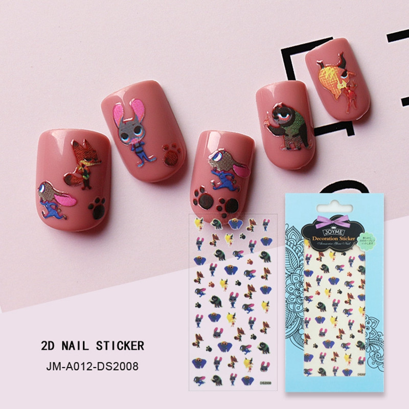 selfadhesive christmas nail stickers factory for ladies-1