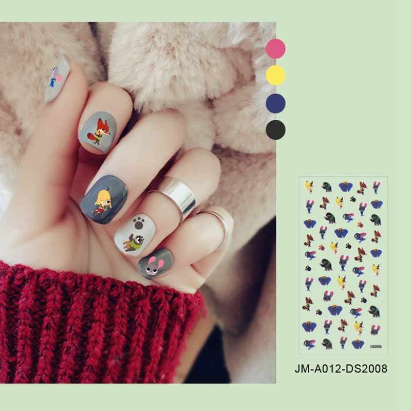 selfadhesive christmas nail stickers factory for ladies-3