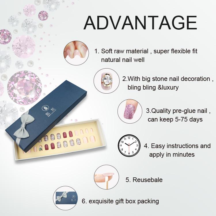 Newair Fake Nails Array image1