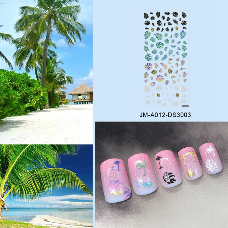 lovely star nail stickers with good price for ladies-5