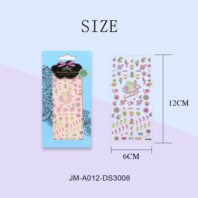 universal 3d nail decals design for girl-4