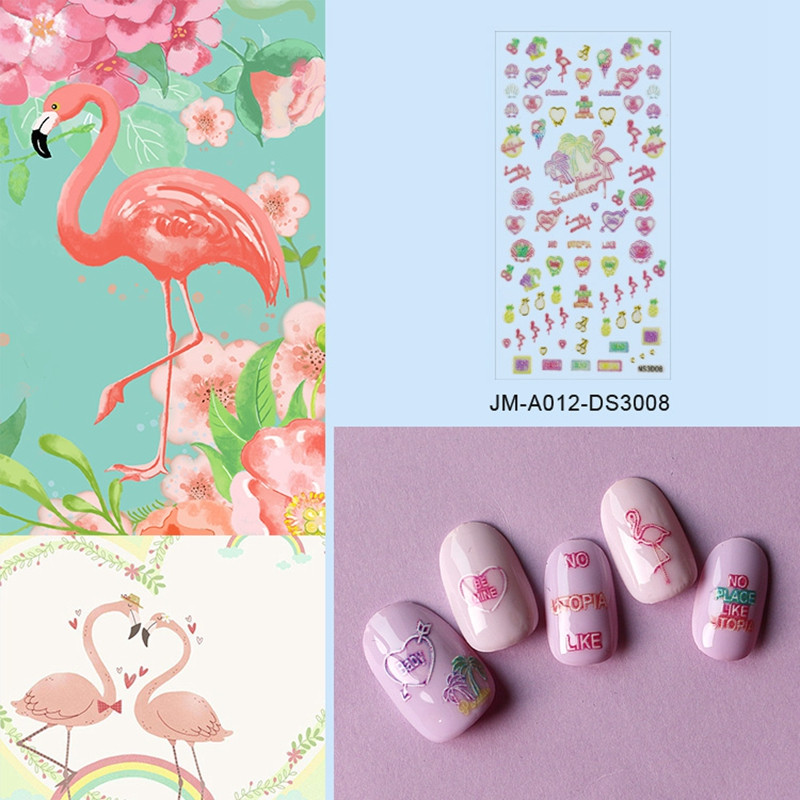 universal 3d nail decals design for girl-5