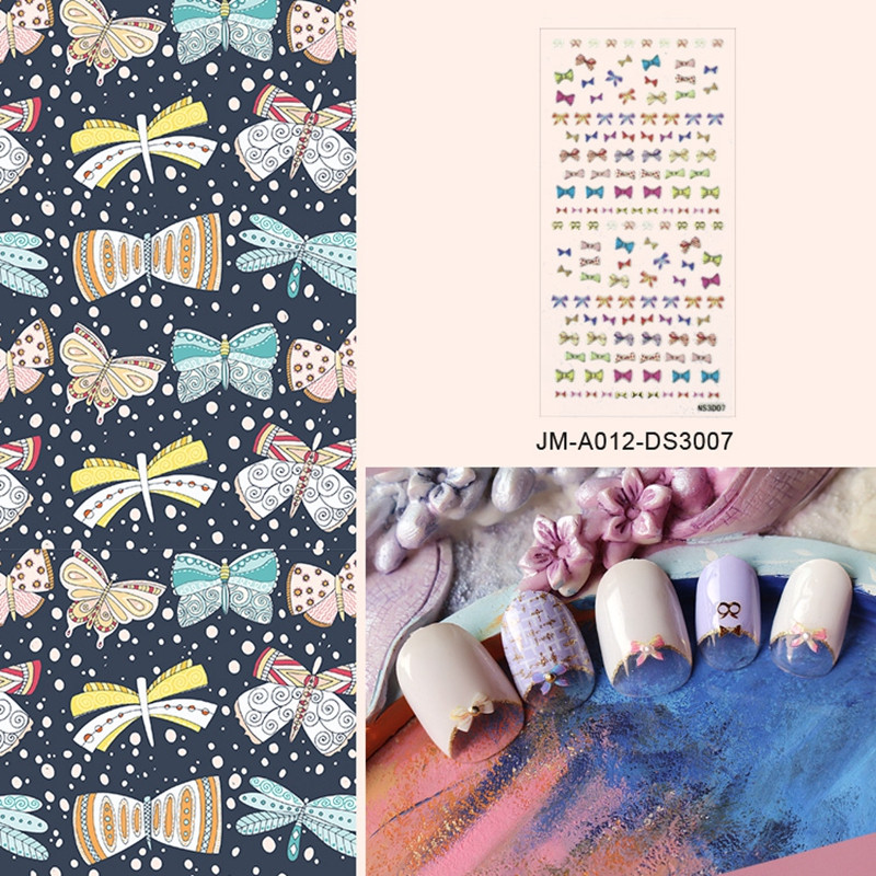promotional custom nail decals for ladies-4