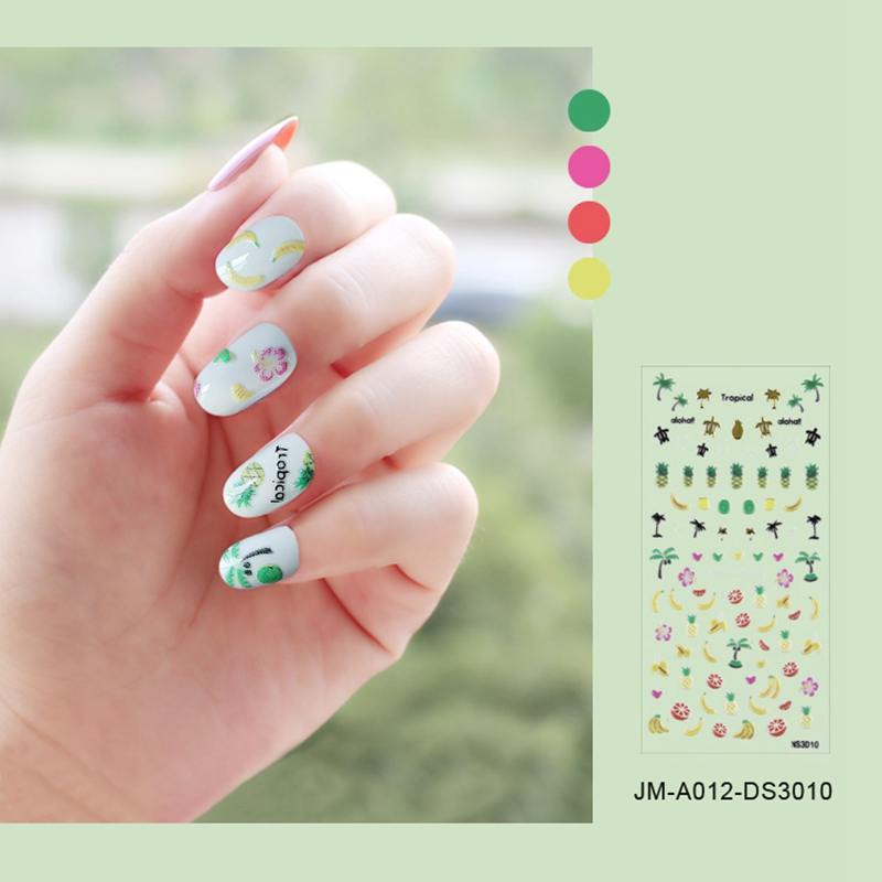 metallic christmas nail stickers factory for ladies-4
