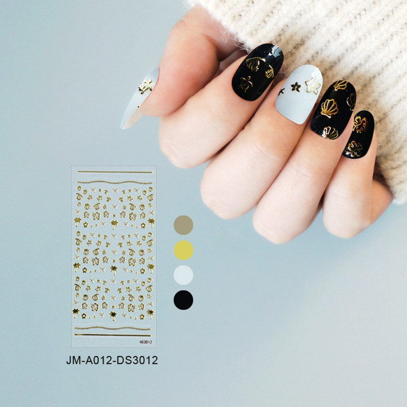 Newair Fake Nails decorative gel nail stickers design for ladies-5