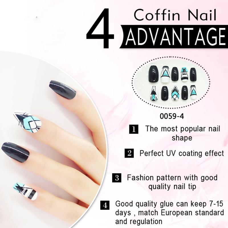Newair Fake Nails Array image107