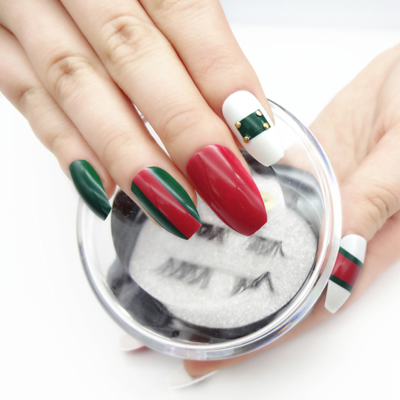 Newair Fake Nails lovely false nails with design supplier for girls-4