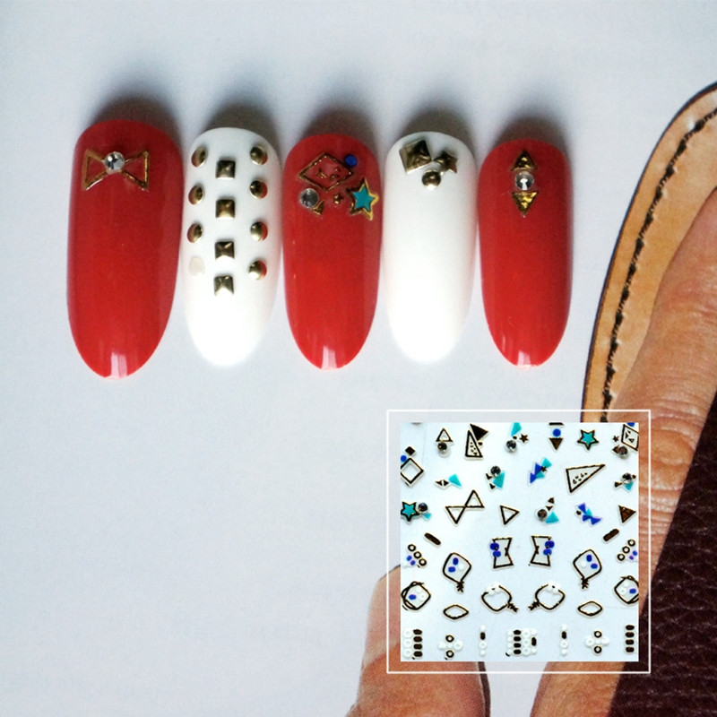 embossed nail stickers walmart for girl-5