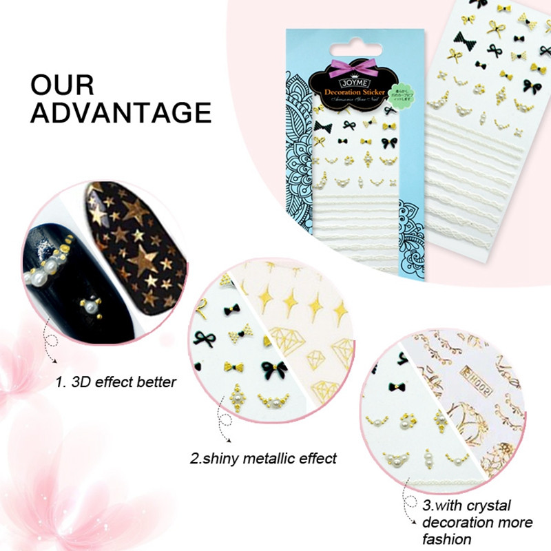 Newair Fake Nails designer nail stickers design for women-4