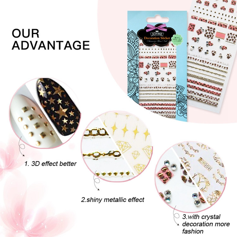 Newair Fake Nails 3d water nail stickers inquire now for women-4