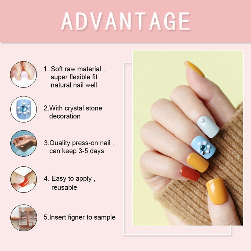 Newair Fake Nails artificial press on nails amazon directly sale for lady