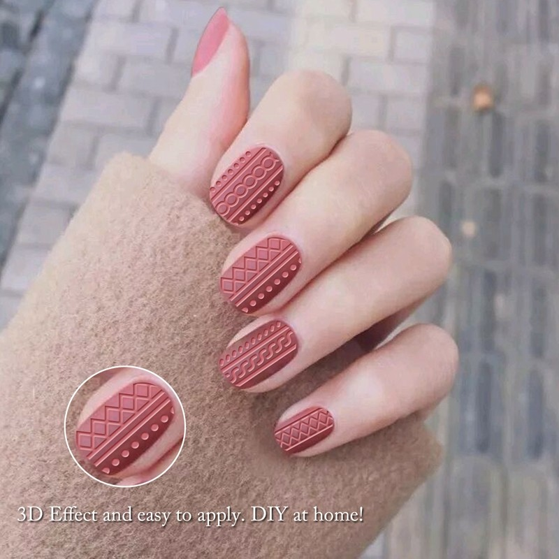 Fashion 3d design nail art stickers