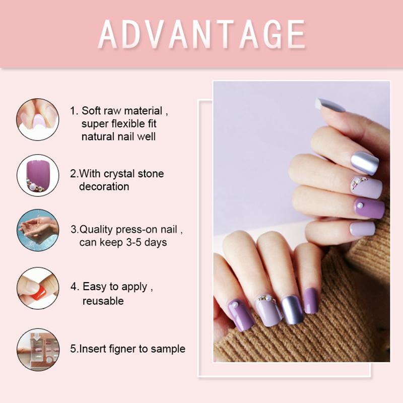 Newair Fake Nails Array image71