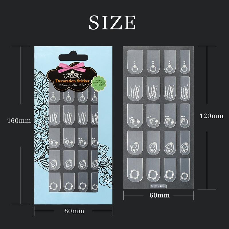 Newair Fake Nails popular holiday nail decals design for ladies-5