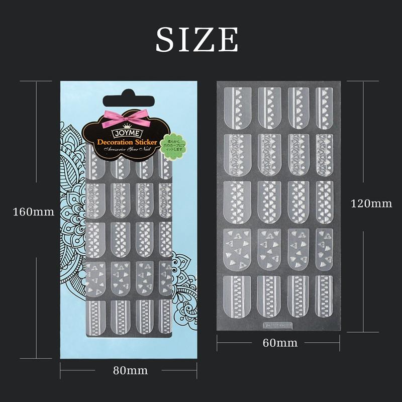 Newair Fake Nails transparent fingernail decals factory for girl-5