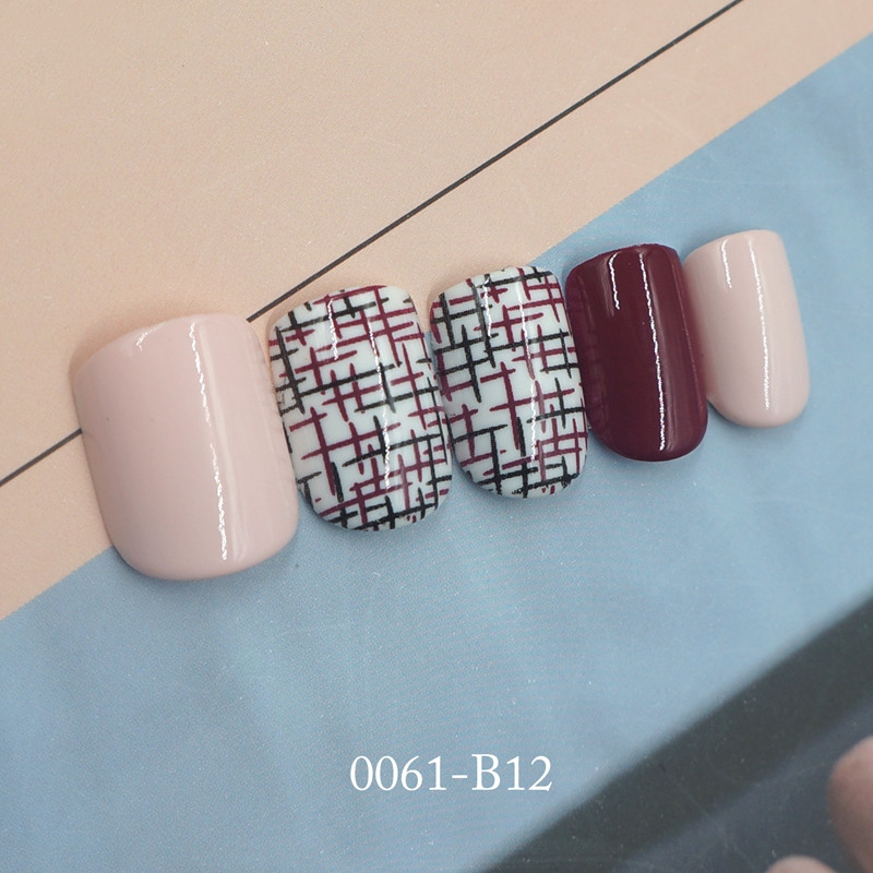 nai artificial nail set customized for bride-4