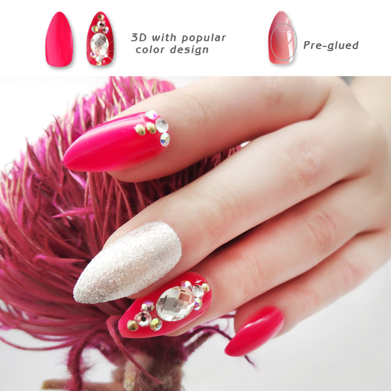 big best press on nails series for bride-4