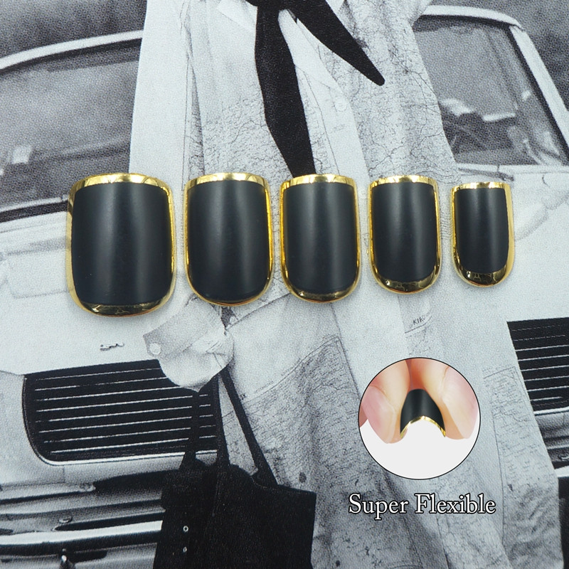 women flexible fake nails from China for wedding-4