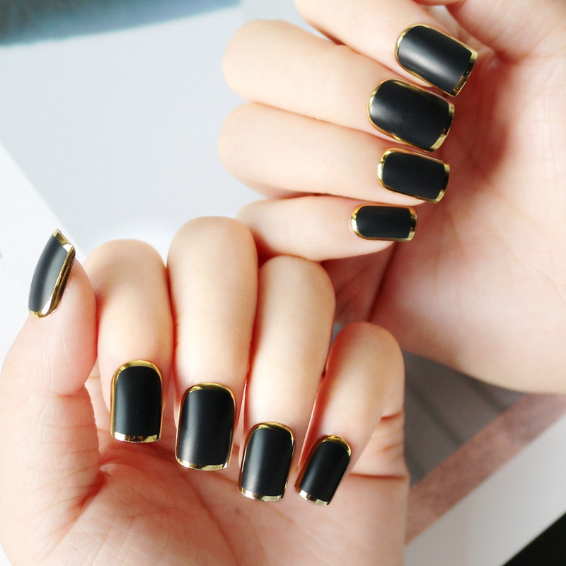 women flexible fake nails from China for wedding-5