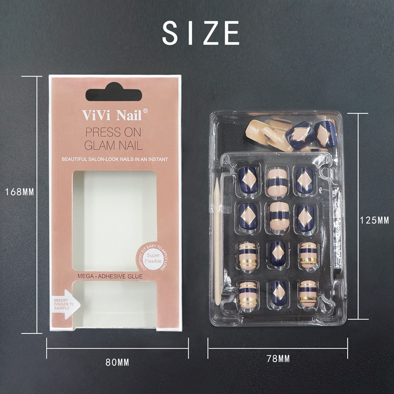 Newair Fake Nails gel long fake nails from China for bride-4