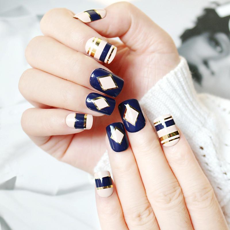 Newair Fake Nails gel long fake nails from China for bride-6