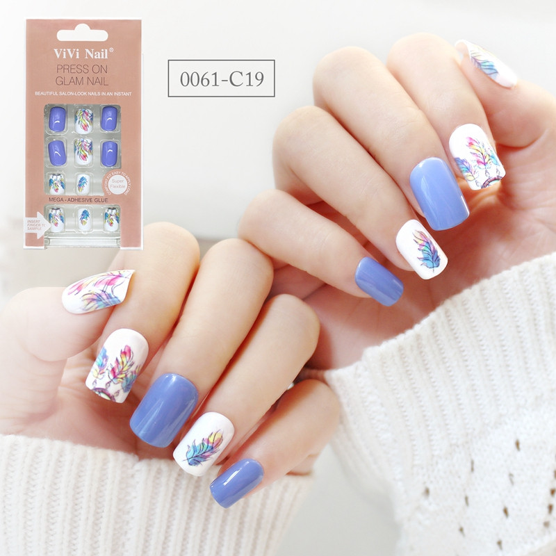 Newair Fake Nails flexible fake nails directly sale for girls-1