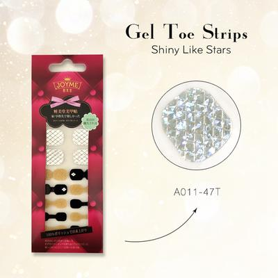 Gel Toe Strips Imported Material Chrome Sticker Mabufacturer Black and Gold