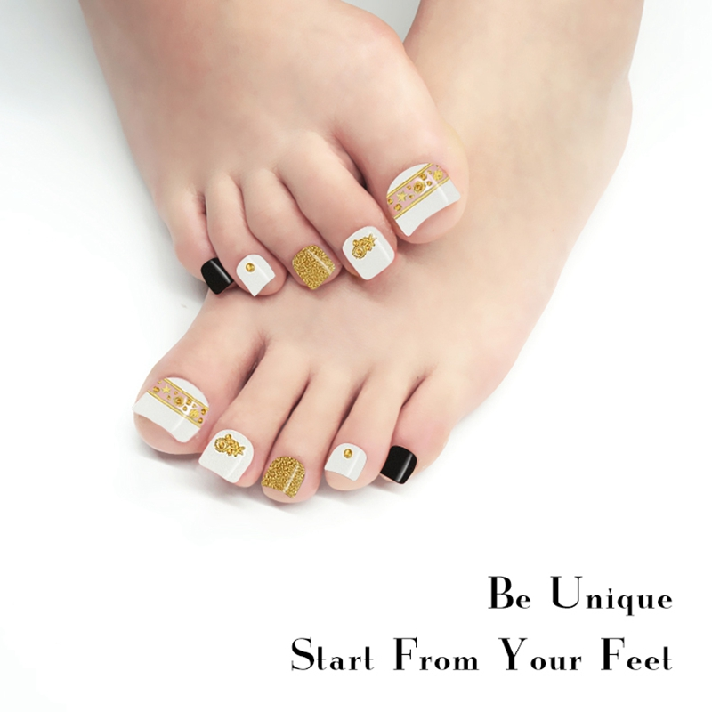 Newair Fake Nails gold incoco nail strips factory price for gifts-7