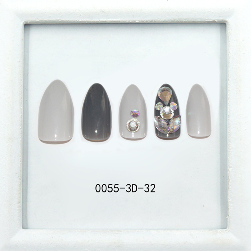 fashion false nails full cover factory price for girls-4