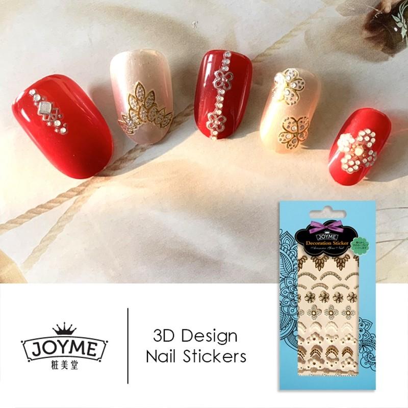 nail jewelry 3d nail sticker