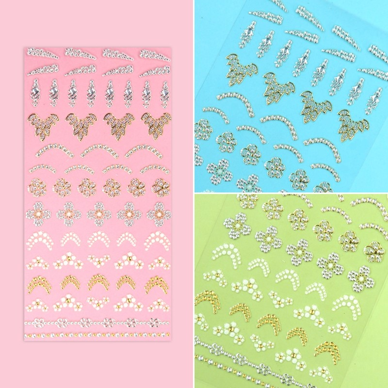 Newair Fake Nails self adhesive nail stickers with good price for women-5