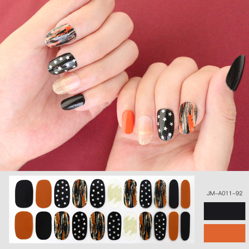 star design nail strip