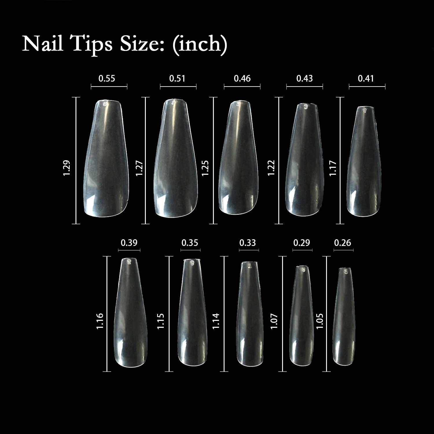 Newair Fake Nails 100pcs stiletto nail tips factory price for sale-4