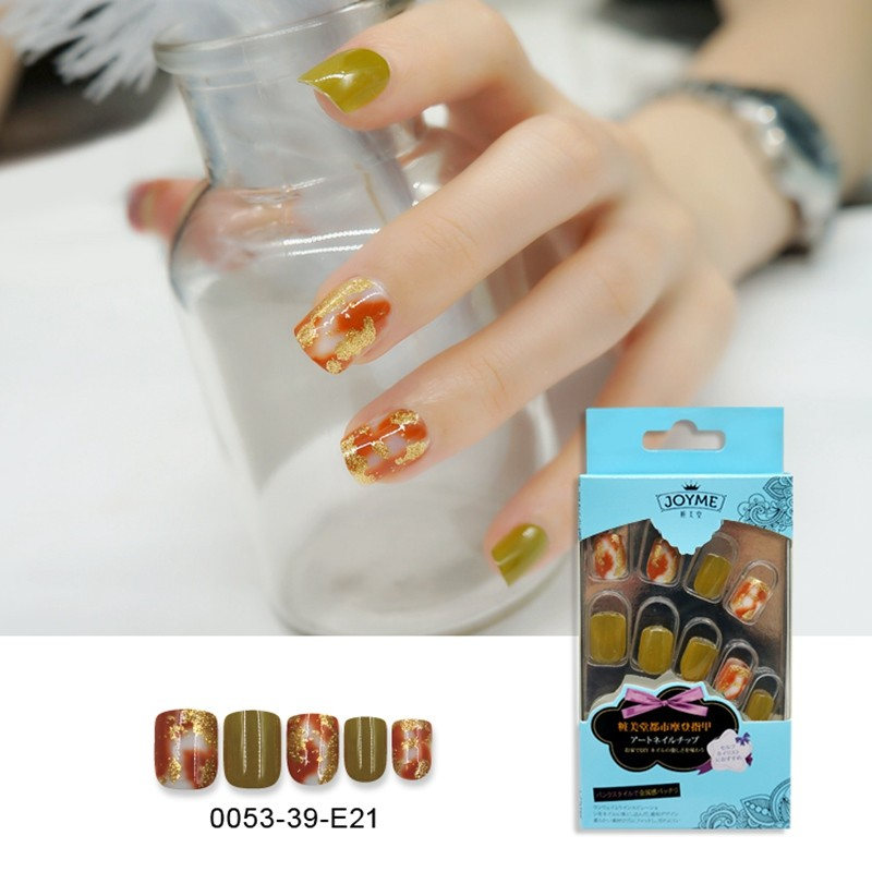 Square Printing Fashion Nail